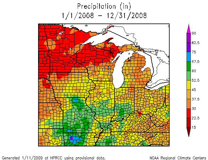 Climate events of 2008 illinois state climatologist office illinois