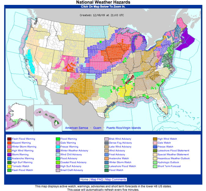Major Snowstorm Strikes The Midwest Illinois State Climatologist - Us snowfall map 2009